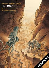 Couverture de On Mars (tome 1)