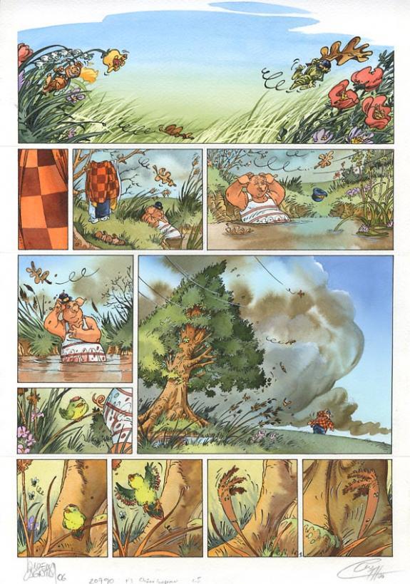 Le ch ne et le roseau p1 4 histoire compl te tome 2 for La fontaine aux cuisines