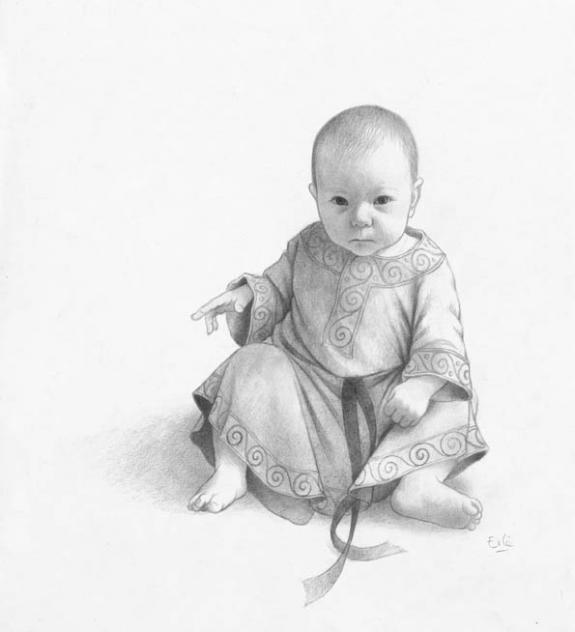 Erlé Ferronnière - Fées et Déesses, Bébé