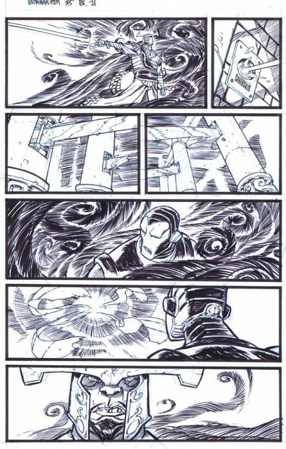 Eric Canete - Iron Man , Enter the Mandarin #5, Page 21