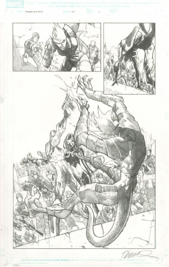 Humberto Ramos - Avengers : the Initiative, Issue 23 - page