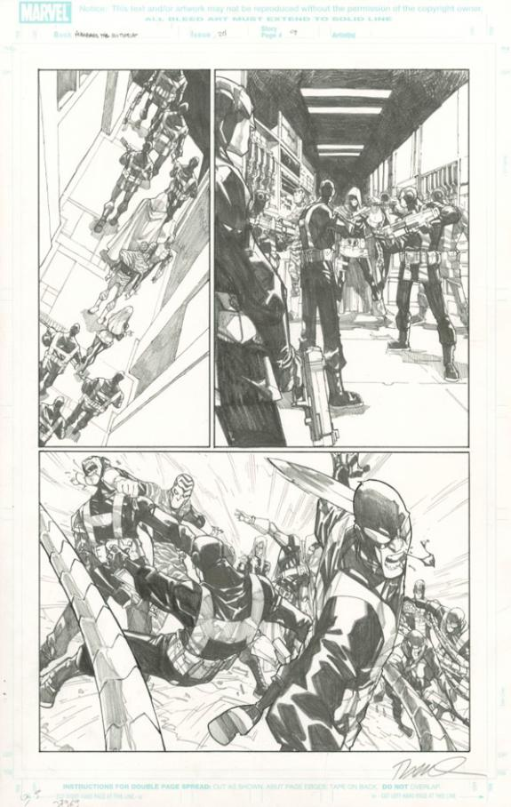 Humberto Ramos - Avengers : the Initiative, Issue 24 - page