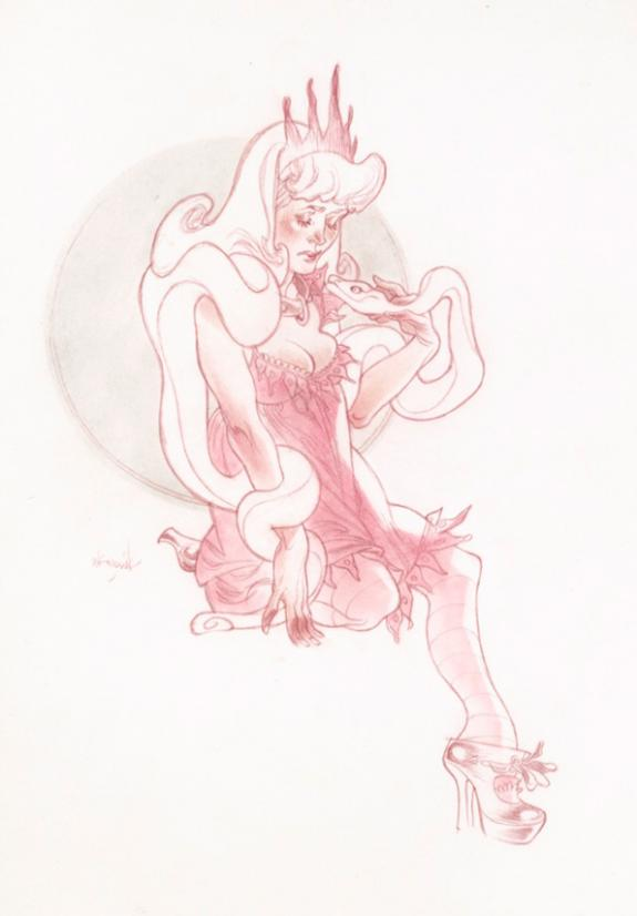 Claire Wendling - Daisies - Affogato All' Amarena, Charmeuse