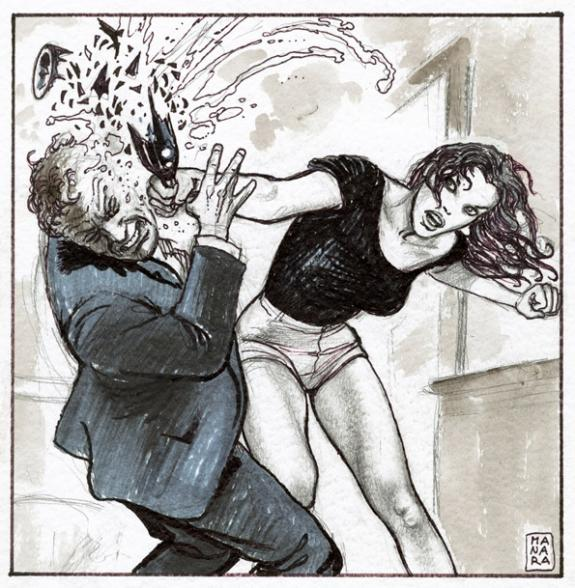 Milo Manara - Illustration originale