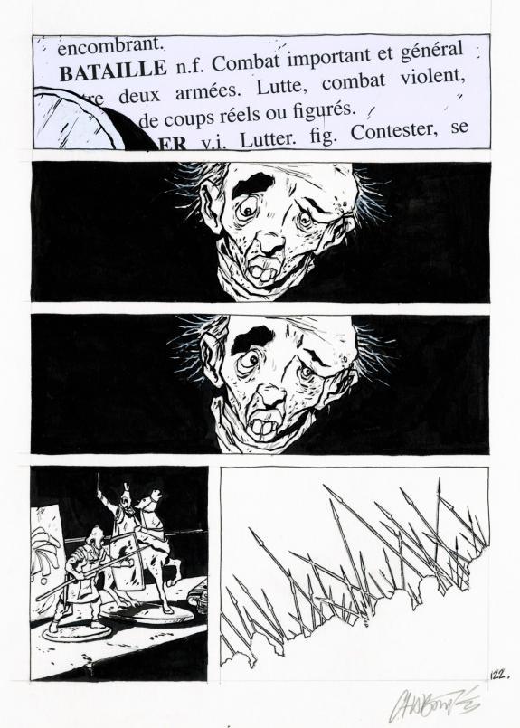 Christophe Chabouté - Tout seul, planche 122