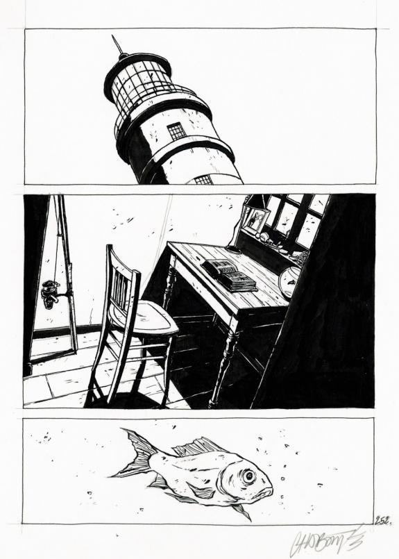 Christophe Chabouté - Tout seul, planche 252