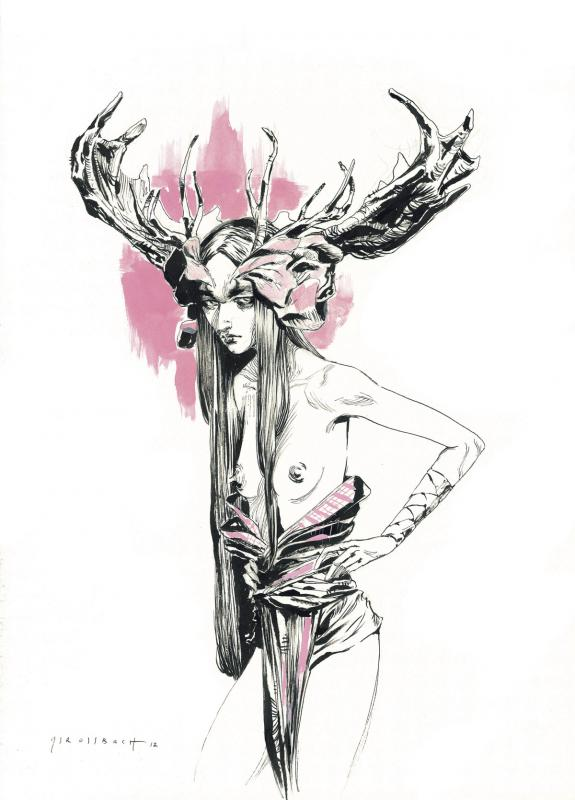 Jean Sébastien Rossbach - Mother, Illustration originale