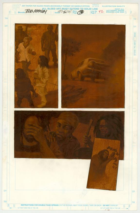 Gene Colan - Bob Marley : Tale of the Tuff Gong, Issue #2, P