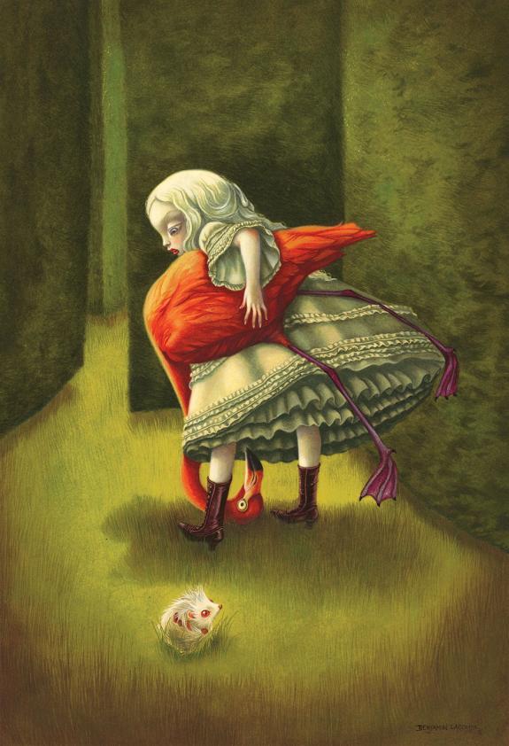 Alice au pays des merveilles, illustré par Benjamin Lacombe. 55741-1