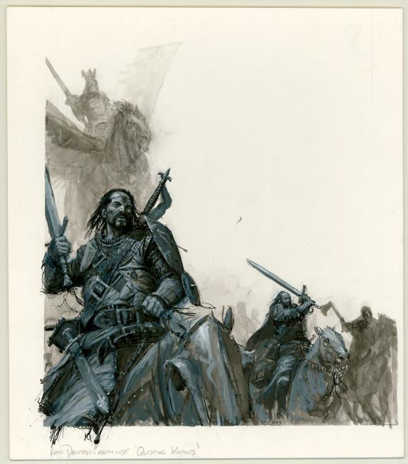 "Paul Dainton - warhammer, Illustration originale ""Army List"