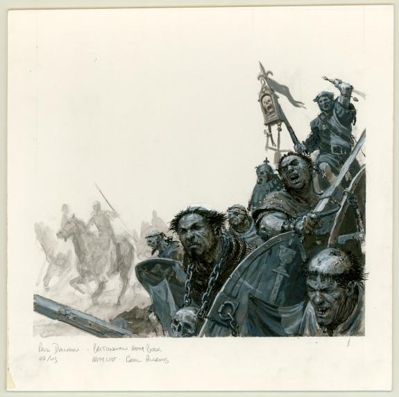 "Paul Dainton - warhammer, Illustration originale ""Bretonnian"