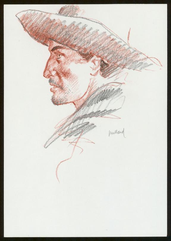André Juillard - Illustration originale
