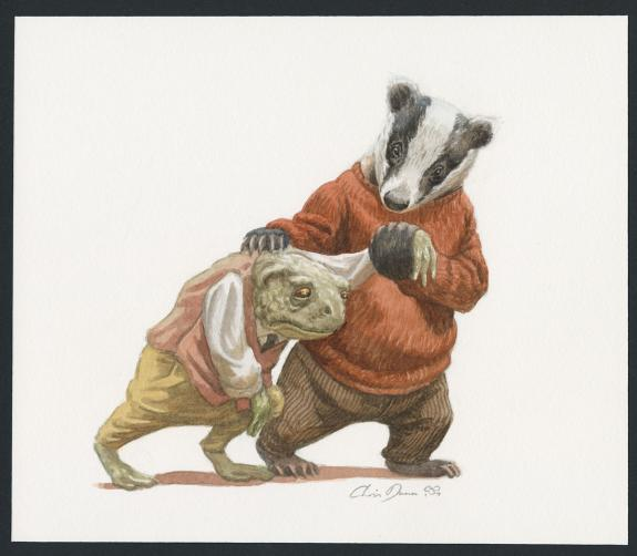 Christopher Dunn - The Wind in the willows, Illustration ori