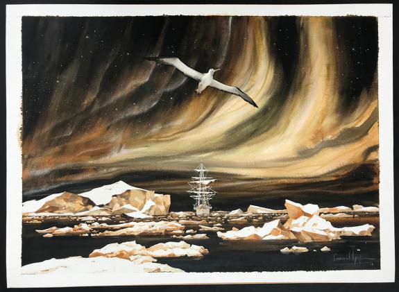 Emmanuel Lepage - Les voyages de Jules, Illustration origina