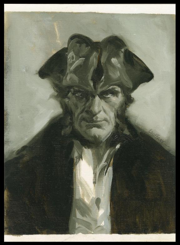 Mathieu Lauffray - Long John Silver, Guyanacapac, Portrait d