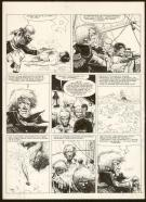 William Vance - Bruce J. Hawker, Press gang, Planche origina