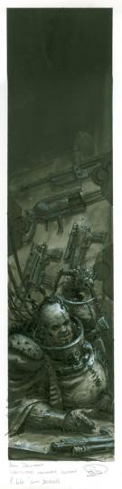 Paul Dainton - Warhammer 40000, Inquisitor armoury section