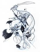 Eric Canete - Red Sonja and Cyclope