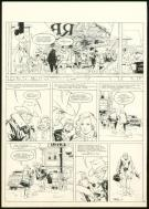 William Vance - XIII, Le Dossier Jason Fly, Planche original