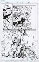 Terry Dodson - Uncanny X-Men, page 22 issue # 525  -encrage