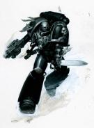 Paul Dainton - Warhammer 40000, inquisitor brother artemis