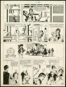 William Vance - Howard Flynn, À l'abordage, Planche original