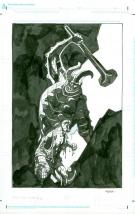 "Mike Mignola - Illustration du sketchbook ""From the vault #5"