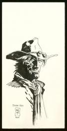 Jordi Bernet - Illustration originale - Jonah Hex
