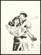 Jordi Bernet - Illustration originale