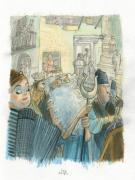 Jorge Gonzalez - illustration originale pour english-spanish