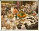 "Christopher Dunn - Illustration originale, ""Feast"""