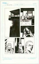 Charlie Adlard - Walking Dead, Planche originale de l'issue