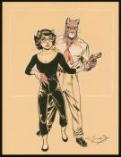 Juanjo Guarnido - Blacksad, illustration originale publiée d