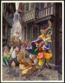 "Christopher Dunn - Illustration originale, ""Pied Piper"""