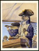 "Christopher Dunn - Illustration originale, ""Captain Seadog"""