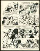 William Vance - Ramiro, Le charlatan, Planche originale n°20