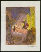 Scott Gustafson - Illustration originale - Sleeping Beauty