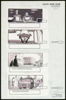 Sylvain Despretz - Black Hawk Down, Story board pour le film