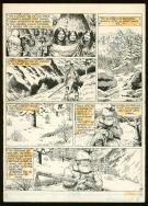 Claude Auclair - La Saga du grizzly, Planche originale n°7