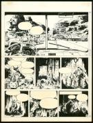 William Vance - Bob Morane, Planche originale n°28