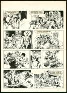William Vance - Bob Morane, Planche originale n°37