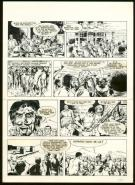 William Vance - Bob Morane, Planche originale n°42