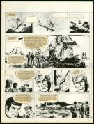 William Vance - Bob Morane, Planche originale n°33