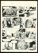William Vance - Bob Morane, Planche originale n°24
