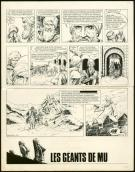 William Vance - Roderic, Planche originale, page de fin de l