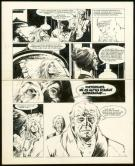 William Vance - Bob Morane, Planche originale n°14
