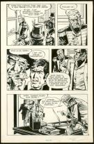 William Vance - Howard Flynn, Planche originale n°5 issue de