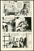 William Vance - Howard Flynn, Planche originale n°10 issue d