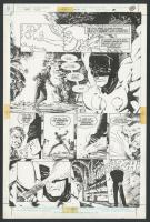 Bernie Wrightson - Planche originale n°28,Batman The Cult Bo