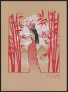 Olivier Vatine - Opening the bamboo curtain, illustration or